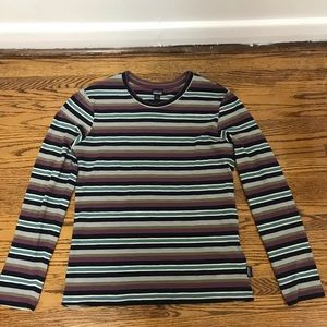 Patagonia Long Sleeve T-Shirt Striped - Like New!